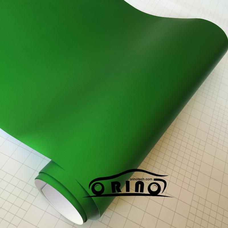 Chrome Metallic Apple Green Vinyl Wrap-5