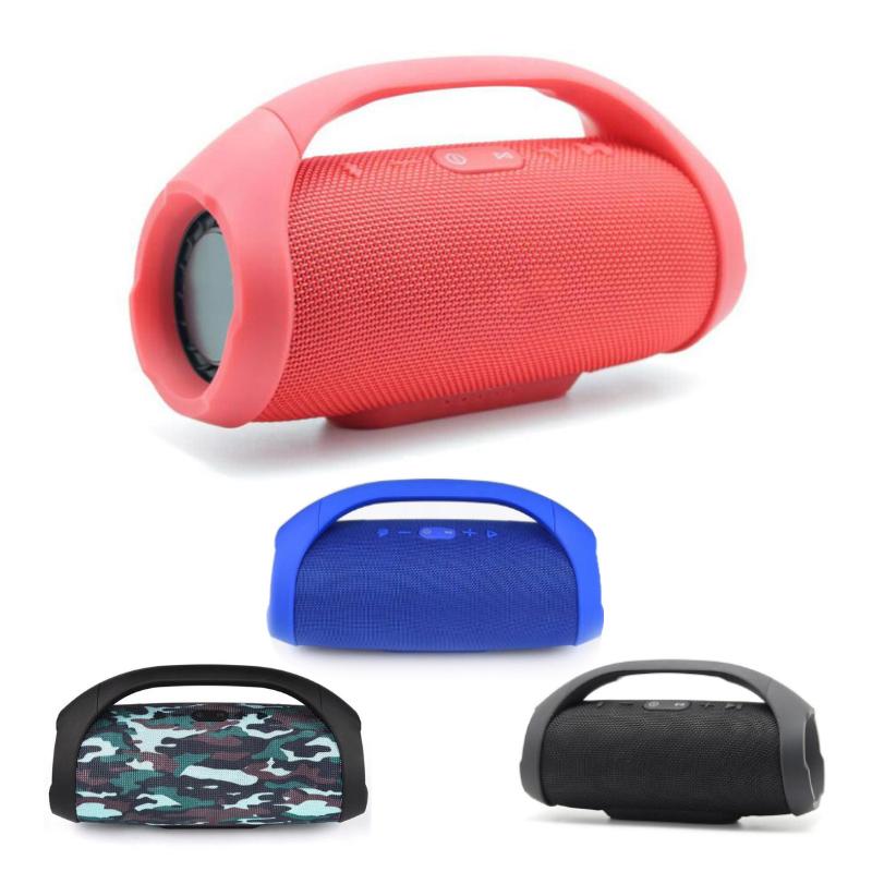 Mini Boom Box Outdoor HIFI Bass Column Speaker Wireless Bluetooth Speaker Boombox Bluetooth Wireless Speaker Stereo Audio
