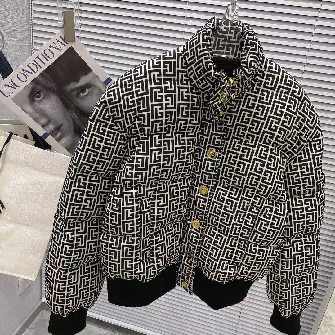 2021 winter new fashion women beautiful designer down filled black jacket ~ CHINESE SIZE jacket ~ great designer jackets for women