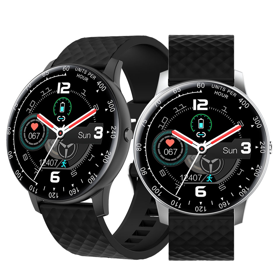 H30 Smart watch Sports Smartwatch Full Screen Touch Heart Rate Smartwatches Band for Android with Retail Box