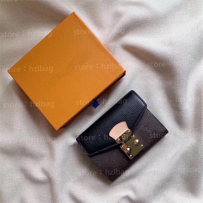 Pallas Wallet designers Womens Purses Press-Stud Closure Flat Pocket Purse Card Holders Coin Key Wallets