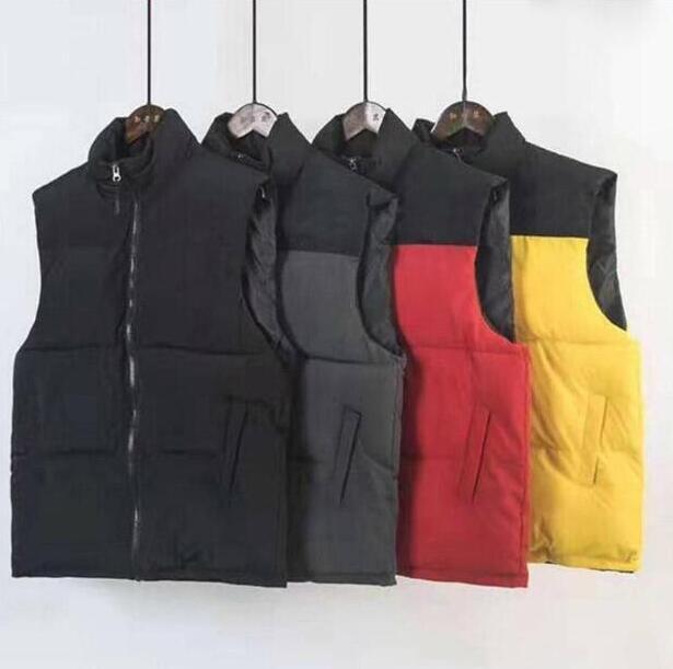 New Fashion mens Winter Jacket Men Down Vest Couples Down Vest Down jacket Parka Outerwear Multicolor Size S-2XL JK092