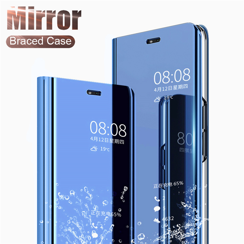 For-Huawei-P20-Pro-P9-P10-Plus-Slim-Clear-View-3D-Smart-Mirror-Leather-Flip-Stand (4)