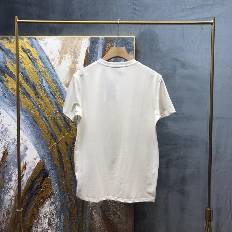 2020 Spring Summer Europe Italy Big Eye Print Tshirt Fashion mens designer t shirts Women Cotton short sleeve Top