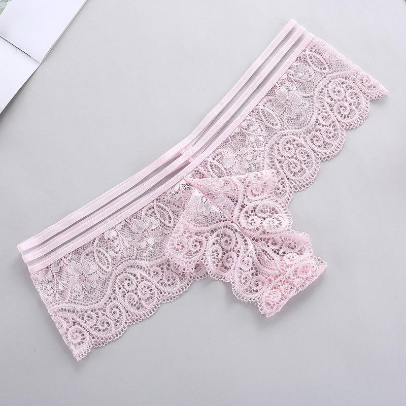 sexy Lace thong panties Low Waist Briefs Panties Thongs G-string Lingerie women underwears mujeres ropa interior will and sandy drop ship
