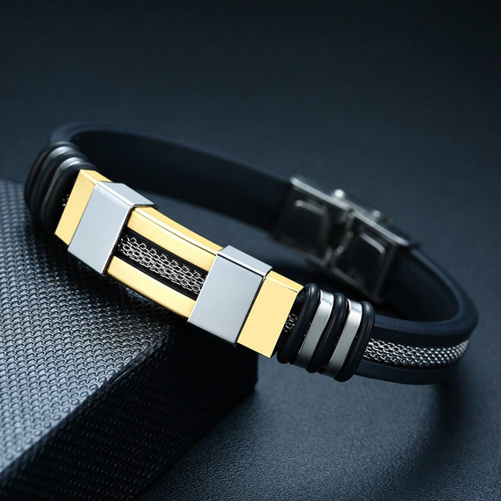 Vnox-Stainless-Steel-Bracelet-Men-Wrist-Band-Black-Grooved-Rudder-Silicone-Mesh-Link-Insert-Punk-Wristband.jpg_640x640