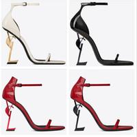 Paris Metal Letters High Heels Luxury Designer Women Ladies ...