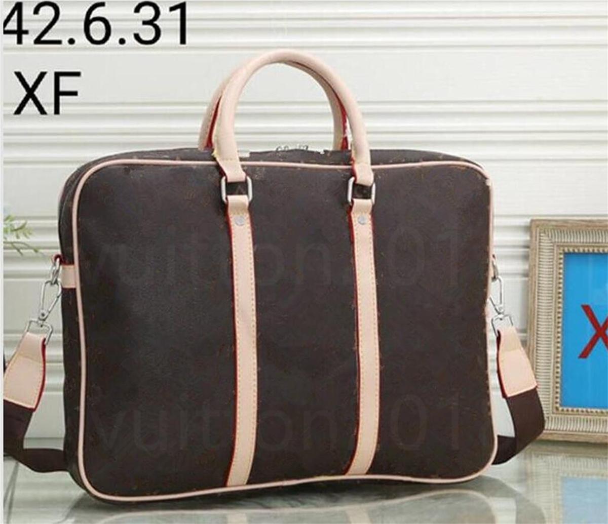 Men Large Briefcase Luxury Designer Handbag Business Travel Messenger Bags Laptop Shoulder Bag classica Male cross body new