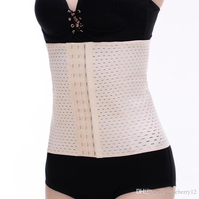 Good Quality Bodysuit Women Waist Trainer Tummy Slimmer Shapewear Training Corsets Cincher Body Shaper Bustier