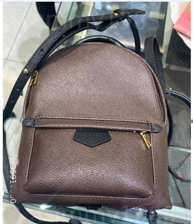 Fashion bags Designer Womens handbag high quality Leather Mini Kids School Bag Springs autumn Travel Backpack 112#-399#