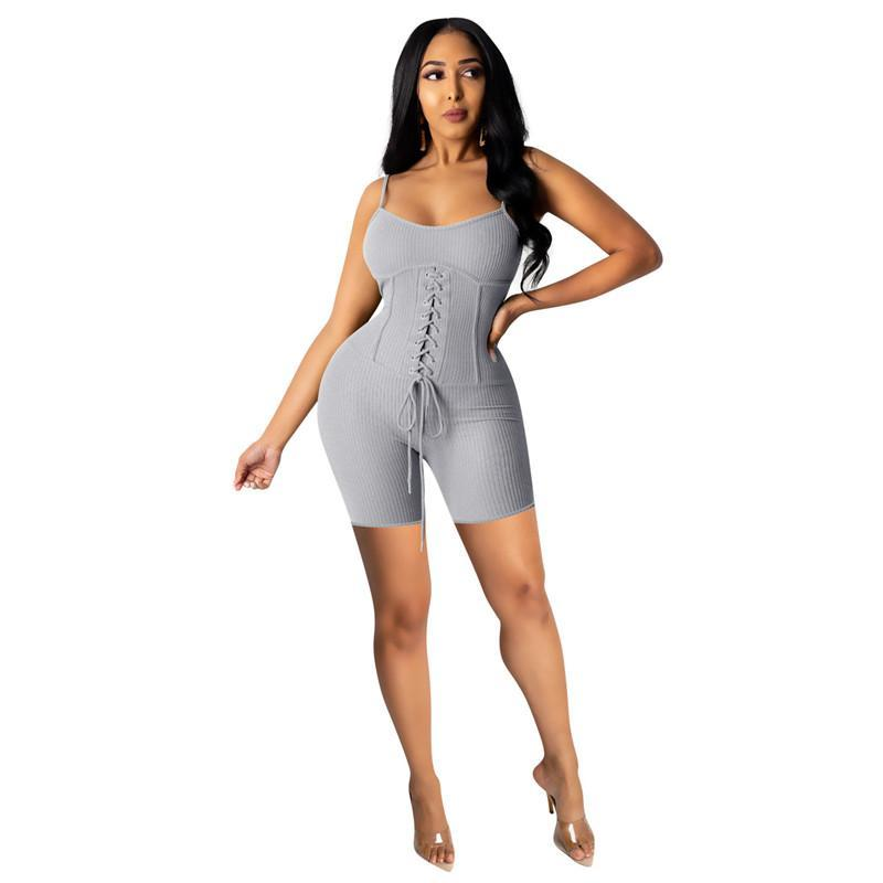 sexy bodycon Strapless jumpsuits overalls rompers sleeveless one piece shortsplaysuit fashion comfortable clubwear elegant jumpsuit klw0799