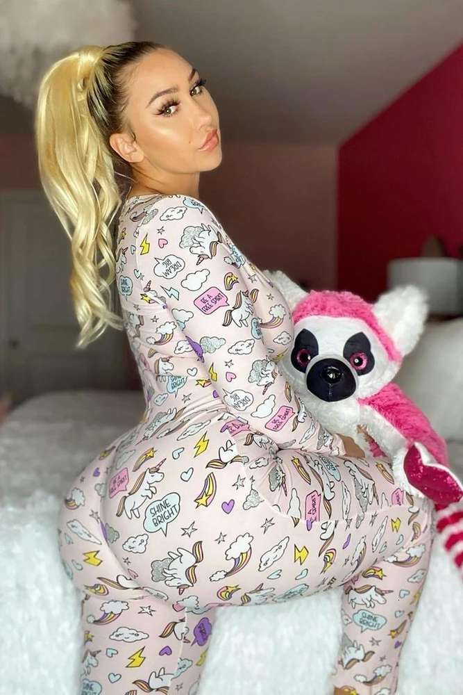 Women Nightwear Playsuit Workout Button Skinny Hot Print long sleeve Jumpsuits V-neck Onesies Women Plus Size Rompers DHL