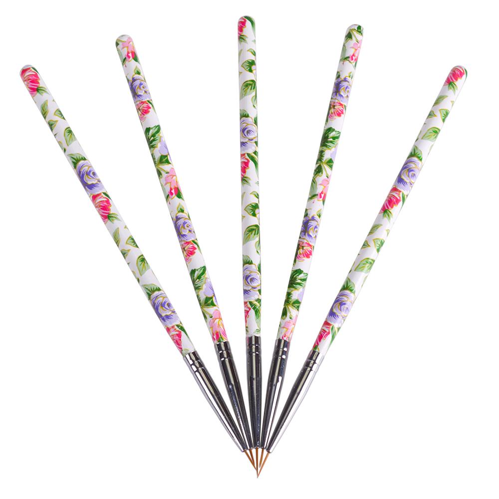 nail stripe line pen