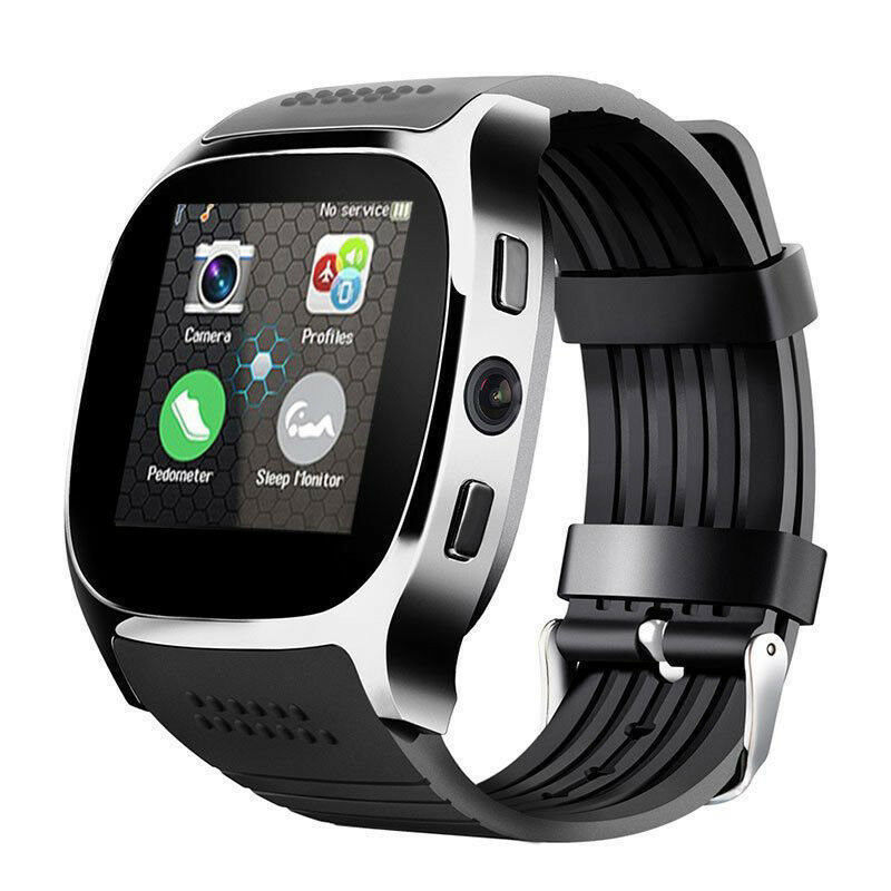 T8 Bluetooth Smart Watch With Camera Phone Mate SIM Card Pedometer Life Waterproof For Android iOS SmartWatch android smartwatch A01