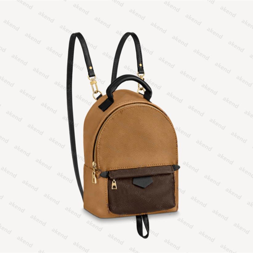 2020 Top Backpack lady Genuine Leather designer luxury fashion back pack fow women handbags Presbyopic Mini shoulder Purse Cross body bag