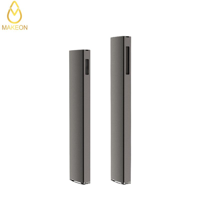 bar delta 8 disposable empty pod vape pen e cigarettes slim cartridge flat atomizer ceramic coil lead free MA-APOD