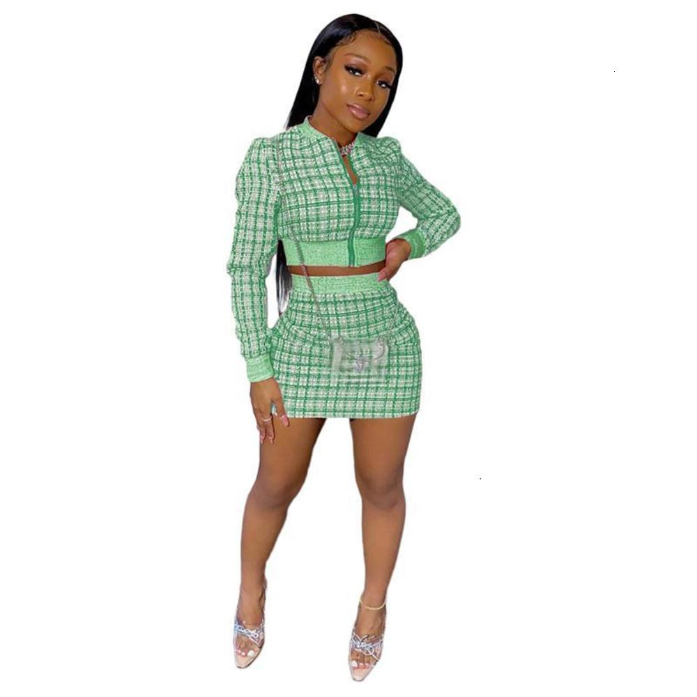 womens two piece dress designer jacket + mini skirt sexy bodycon suit Party Evening Dress print dress womens clothing klw4842