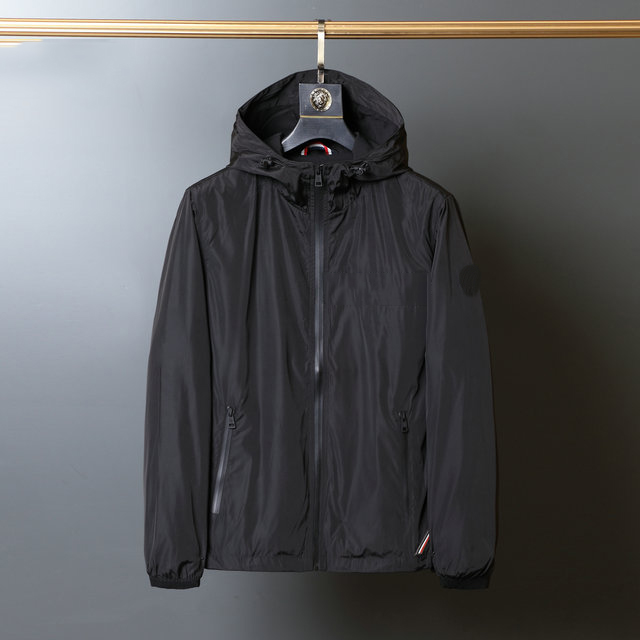 2021 new spring autumn men's casual zipper jacket hooded bomber jakcet fashion patchwork windbreaker jacket men's coat clothes
