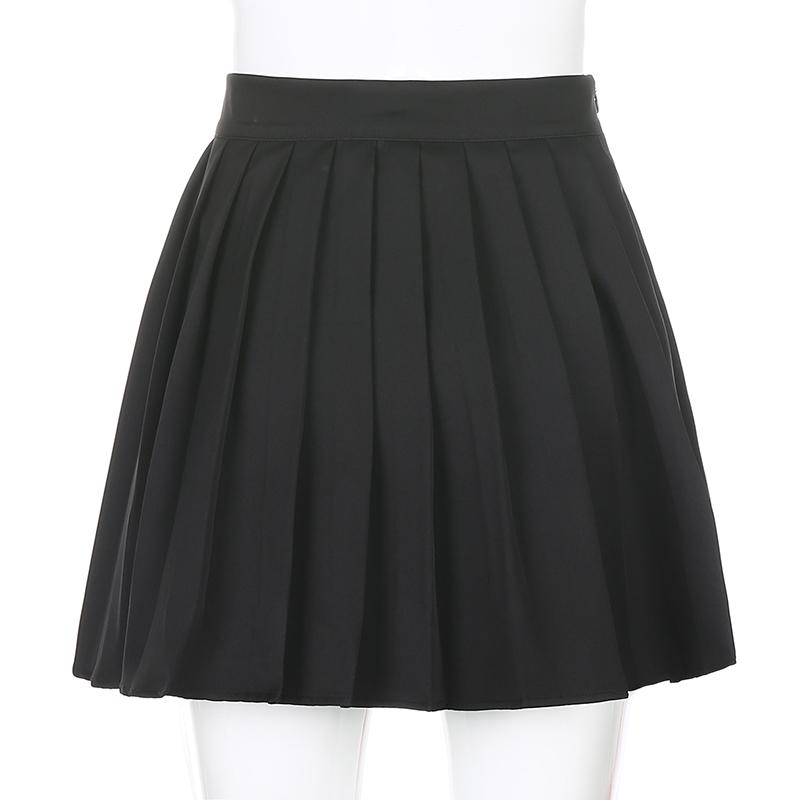 Black Embroidery Skirt (6)