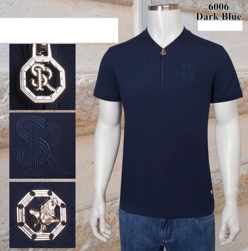 Billionaire polo t-shirt 2021 mens polo shirt cotton Short sleeve men polo polos para hombre embroidery zipper Standing collar