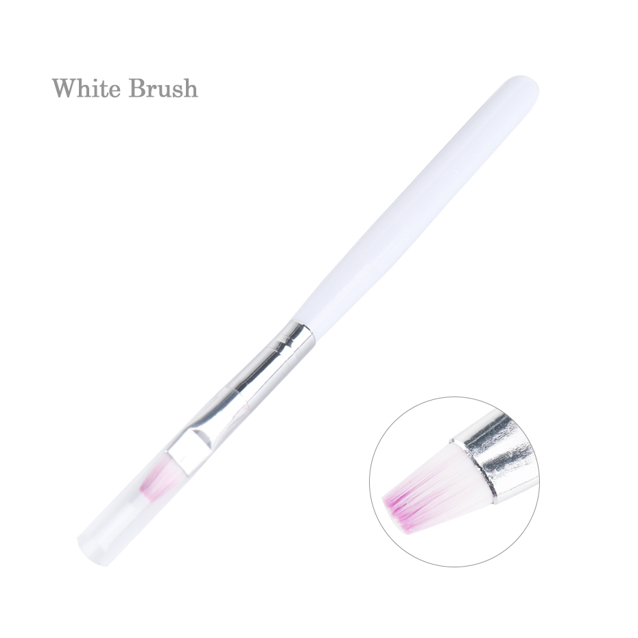 White UV Gel Brush