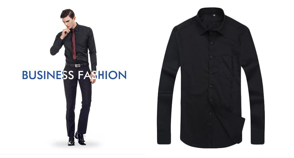 black shirts men 01
