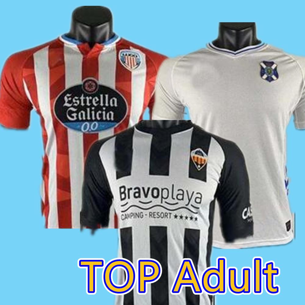CD LUGO Tenerife Castellon camisetas chandal de futbol 20 21 soccer jerseys Rodriguez Manu Barreiro Fran SOL BERMEJO JAMELLI football