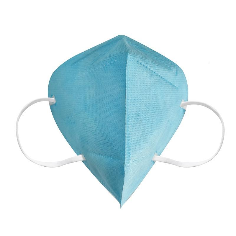KN95 Mask Factory 95% Filter Colorful Disposable mask Activated Carbon Breathing Respirator 5 layer designer face mask Individual Package