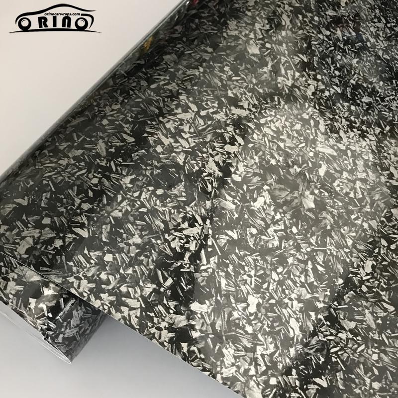 Gloss Silver Titanium Steel Vinyl Wrap Sticker-1
