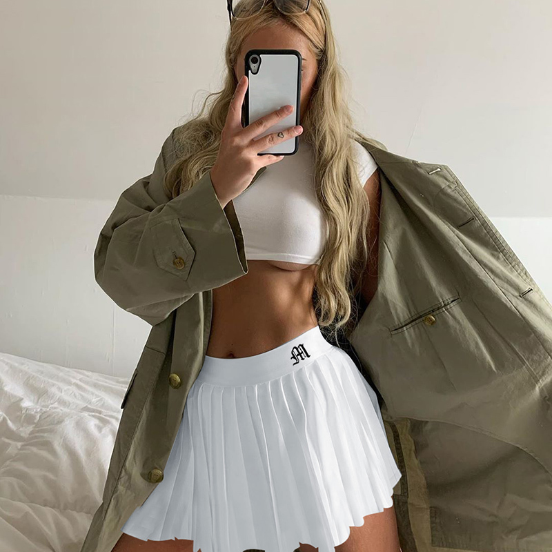 White Embroidery Skirt (16)