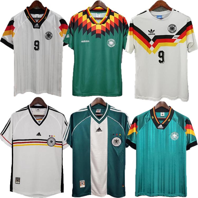 1990 1994 1988 Retro Littbarski BALLACK Soccer Jersey KLINSMANN Matthias 1998 2014 shirts KALKBRENNER Football Germany 1996 2004 Möller Bierhoff HASSLER Brehme 06