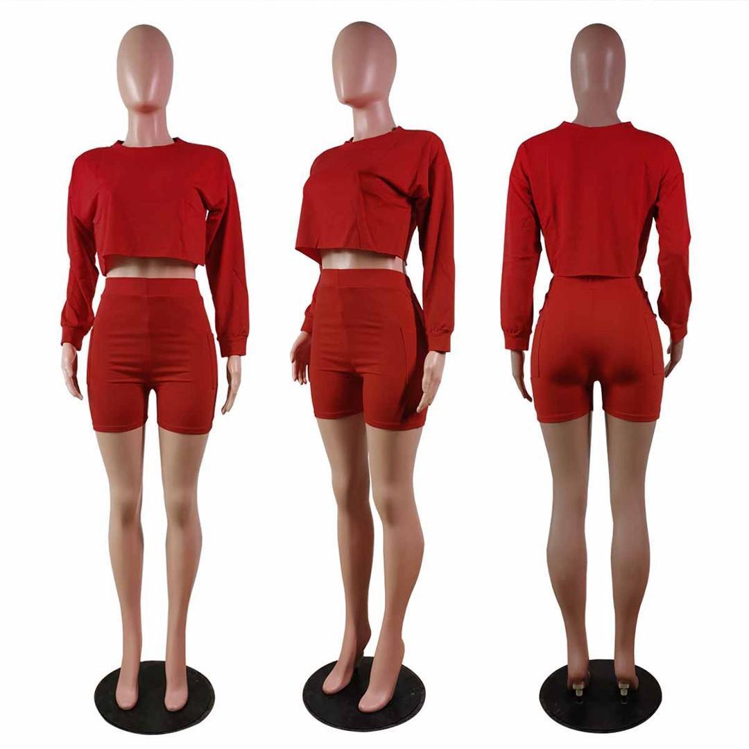 Women Sweatsuits Designers Tracksuits Joggers suit Letter Sweatsuit Summer Clothes Long Sleeve Hoodies+Shorts 2XL Sportswear 4582