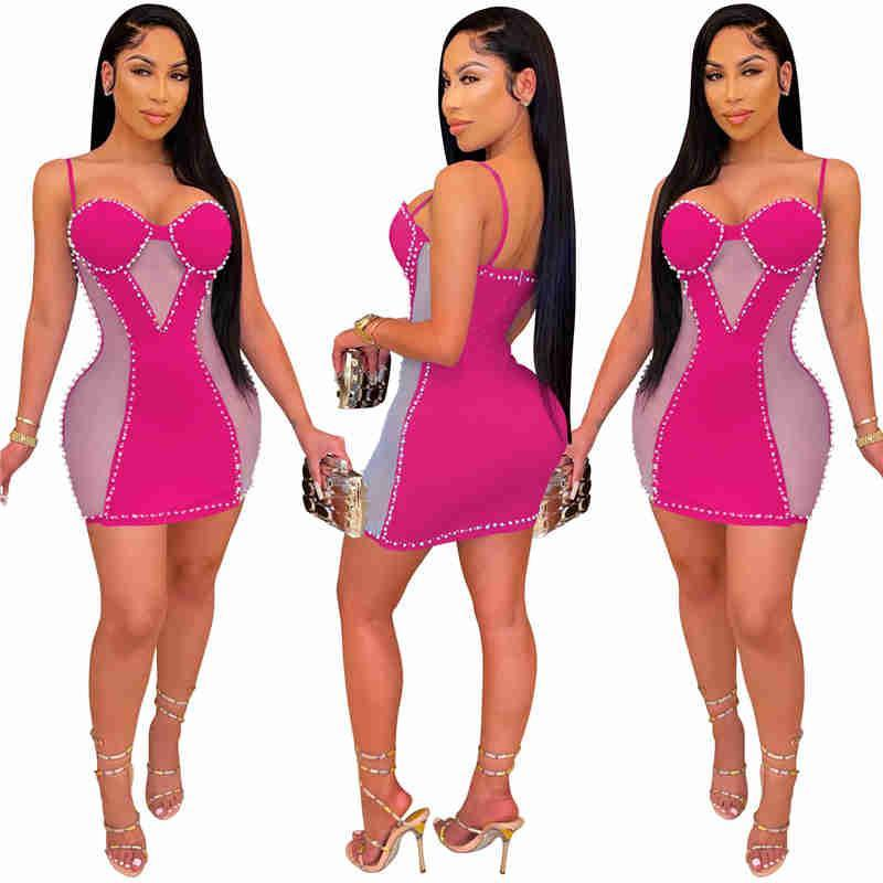 women designer dsseses skirt one piece dress gallus dress high quality slim dress sexy elegant luxury fashion skirt klw0756