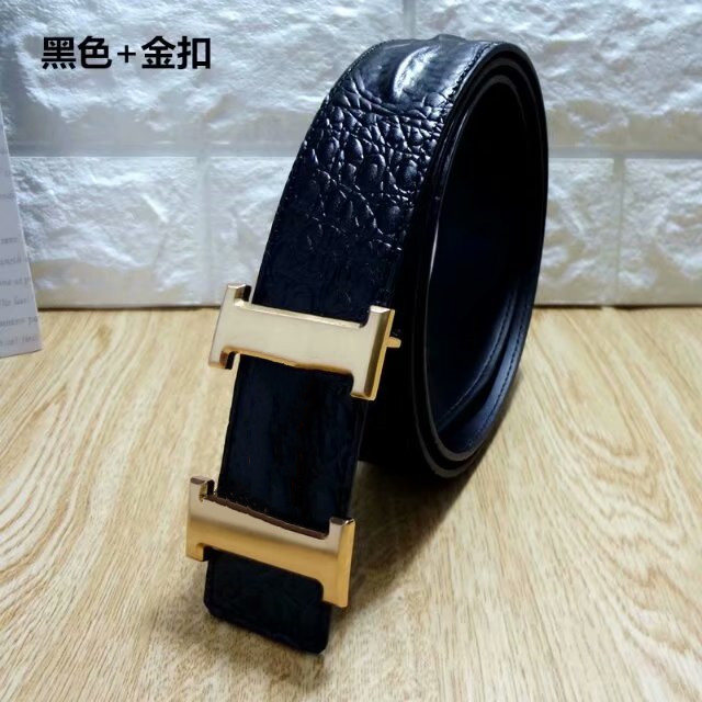 2021classic casual business belts wholesale high quality mens belts metal buckle leather belt for mens woman belt width is 3.8cm