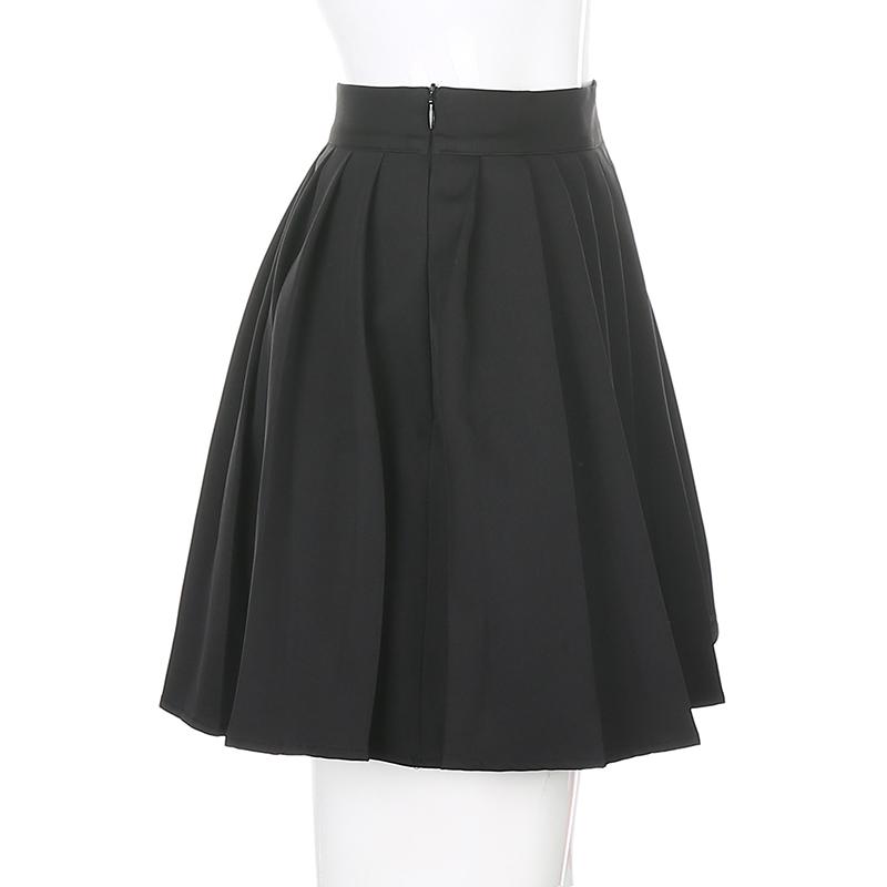 Black Embroidery Skirt (5)