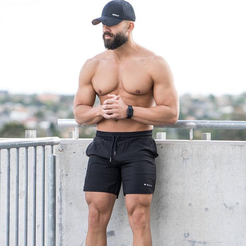 Summer-Mens-Run-Jogging-Shorts-Gym-Fitness-Bodybuilding-Workout-Sports-Sportswear-Male-Short-Pants-Knee-Length