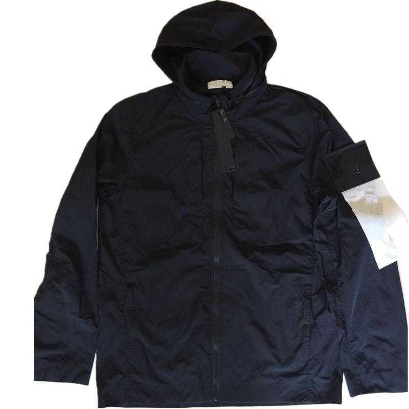 topstoney 2020 konng gonng New spring and autumn thin fashion brand jacket outdoor casual coat with hood collar