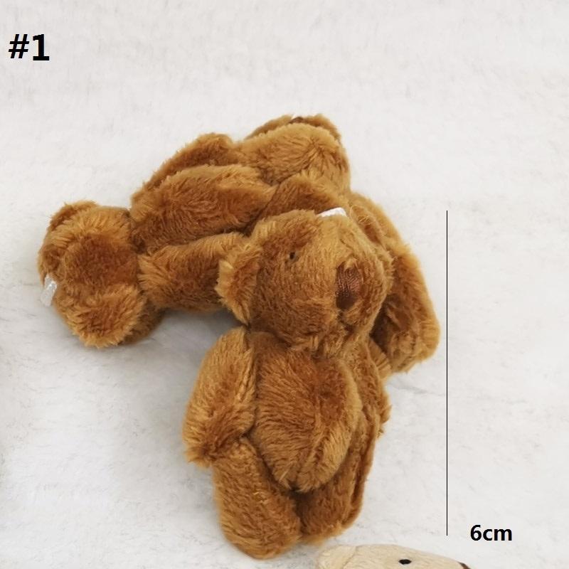 6cm brown bear 1