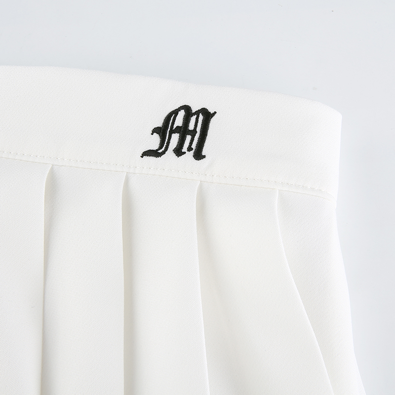 White Embroidery Skirt (23)