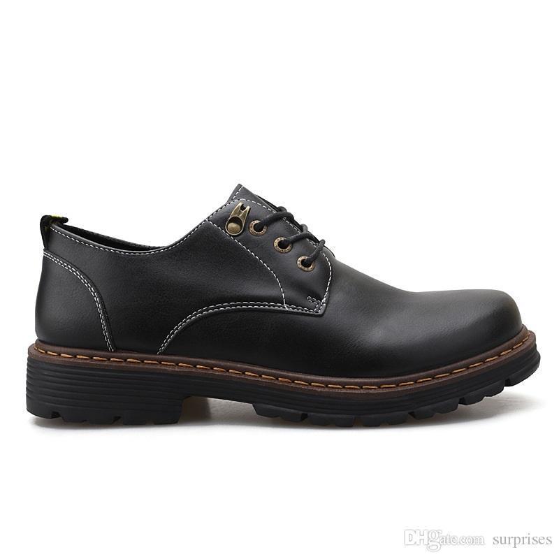 Fashion Large size 38-44 new men's leather men's shoes overshoes British casual shoes Espadrilles four