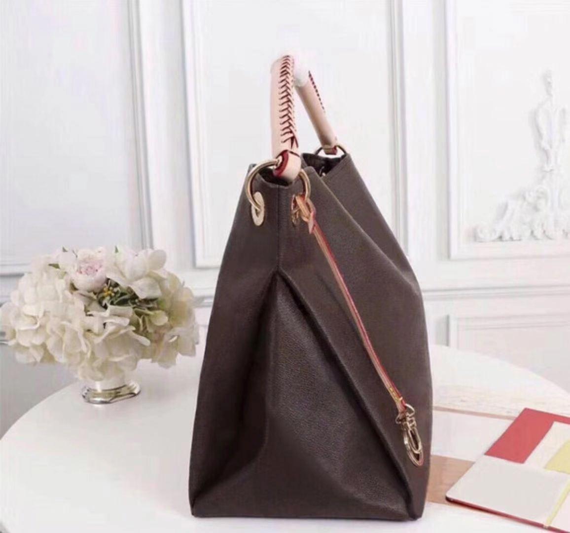 M40249 Classic women designer shoulder bag for women shopping bag large capacity leather Messenger Bag handbags tote Artsy