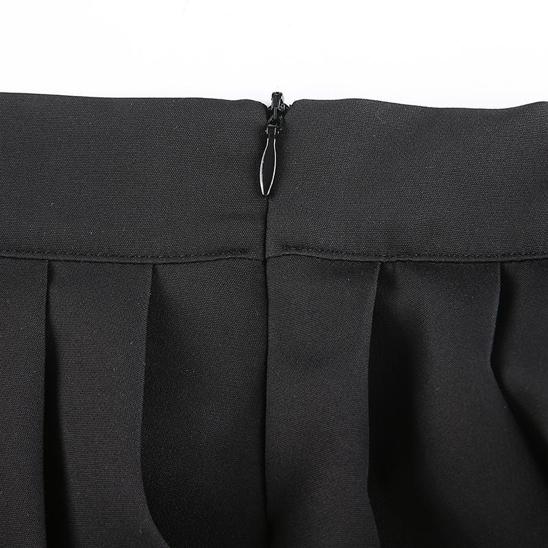 Black Embroidery Skirt (10)