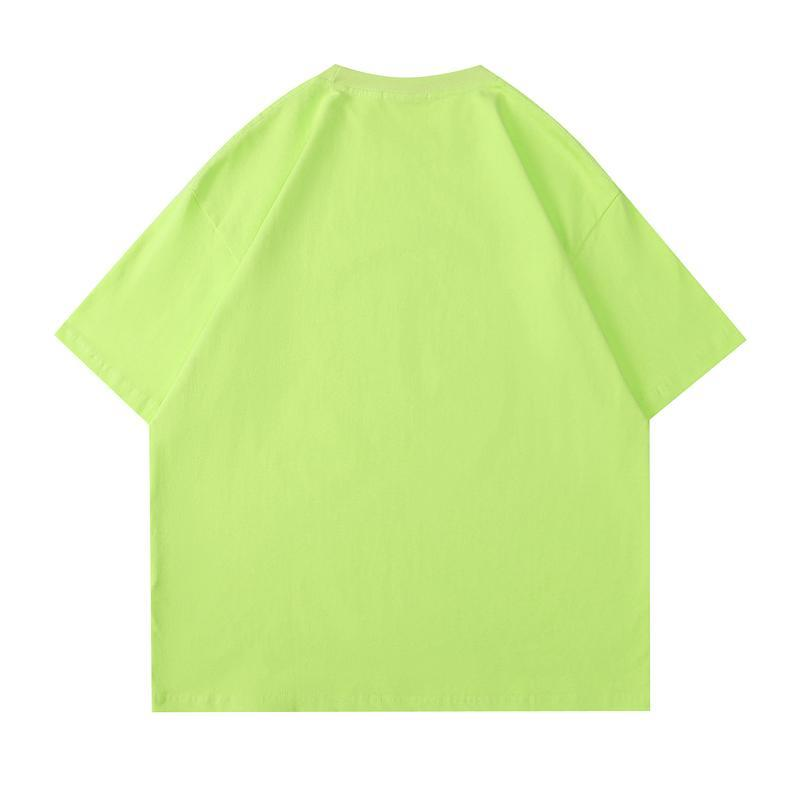 Spring summer fashion Europe astronaut print Tee t shirt Men Women Oversize Street cool cotton Tshirt