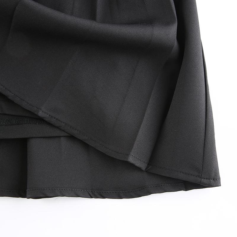 Black Embroidery Skirt (9)