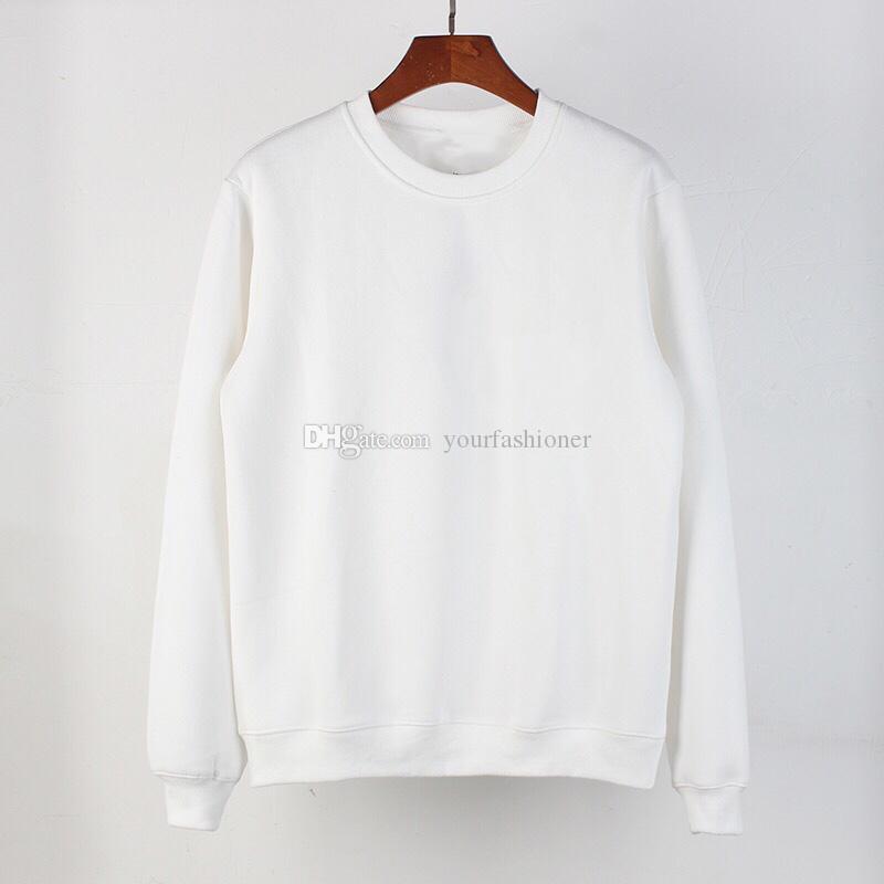 Small Letter Mens Hoodies Pullover Hooded Coats Men's Street Wear Sweatshirt Solid Color Plus Size Women Man Cotton Fashion Hoodies