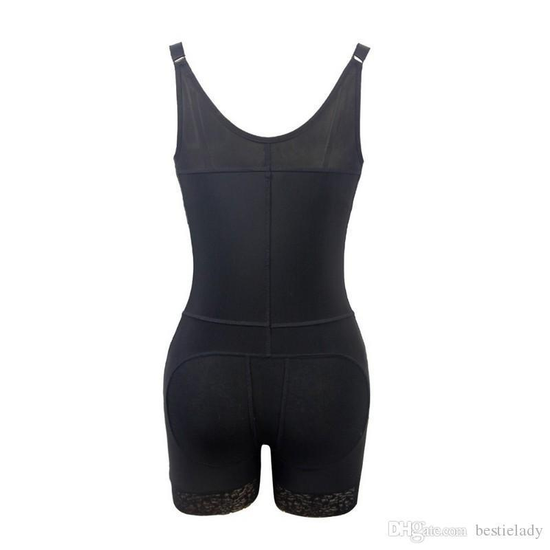Liposuction Compression Bodyshaper Underbust Post Surgery Slimming Waist Trainer Tummy Control Underwear Butt Lifter Zipper Body Shaper