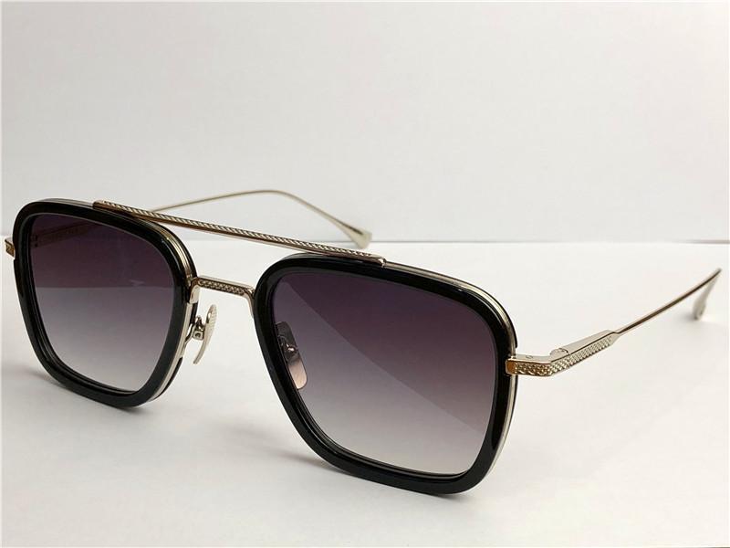 New fashion design man sunglasses 006 square frames vintage popular style uv 400 protective outdoor eyewear