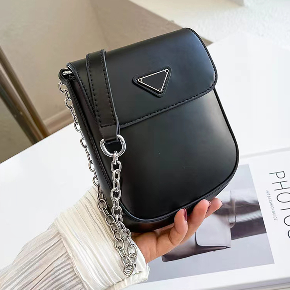 Designer Bag Women Crossbody Chain Bags Leather Purse Totes Pochette Fashion female Tote Vintage Lady Shoulder Wallets