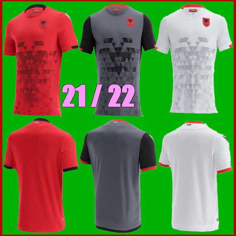 size S-XXL 2021 Albania national team Soccer JerseyS 21 22 Home away Third men football Shirts