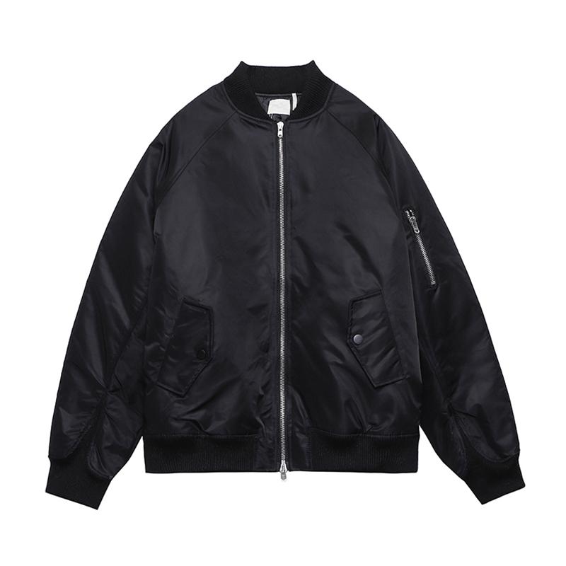 High Quality Mens Jackets Casual Street Hip Hop BaseballJackets Blackout Windbreaker Women Windproof Warm Coat